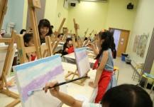 6月19日 - 油畫工作坊