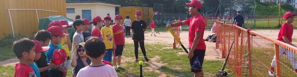 5月 - 棒球訓練
