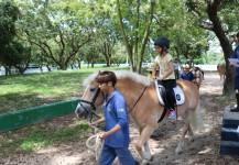6月16日 -  參觀屯門騎術學校