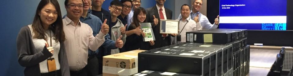 11月29日 – 電腦捐贈儀式