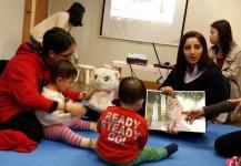 4月 - 與地區團體合辦Playgroup課程